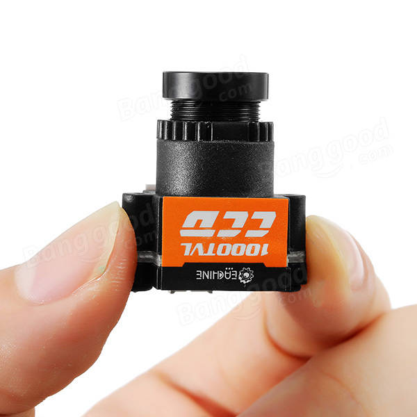 Eachine 1000TVL 1/3 CCD 110 Degree 2.8mm Lens Wide Voltage 5-20V Mini FPV Camera NTSC PAL Switchable - SNHE
