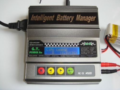 G.T. Power A6-D DualPower Li-Polymer Battery Manager (Built-in AC Power) - SNHE