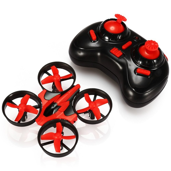 Eachine E010 Mini 2.4G 4CH 6 Axis Headless Mode RC Quadcopter RTF - SNHE