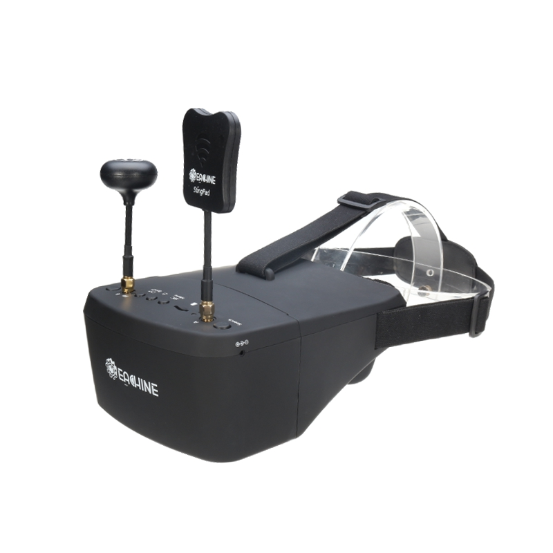 Eachine EV800D 5.8G 40CH Diversity FPV Goggles 5 Inch 800*480 Video Headset HD DVR Built in Battery - SNHE