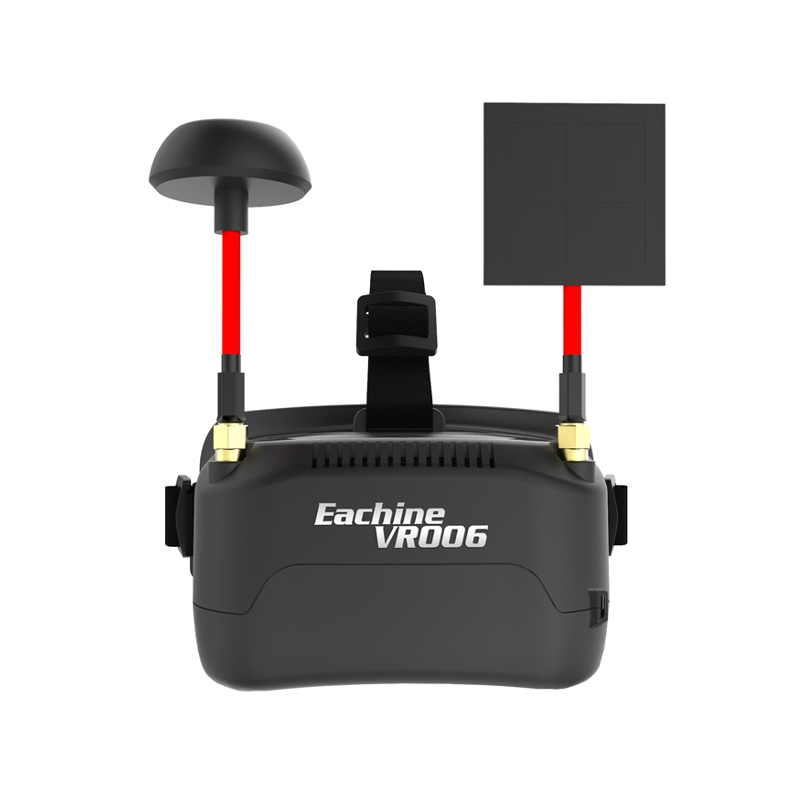 Eachine <b>VR006</b> VR-006 3 Inch 500*300 Display 5.8G 40CH Mini FPV Goggles Build in 3.7V 500mAh Battery - SNHE