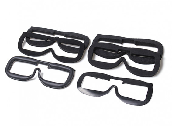 "Fat Shark ""Ultimate Fit Kit"" FPV Goggle Faceplate Replacement Foams (Attitude/Dominator) - SNHE"