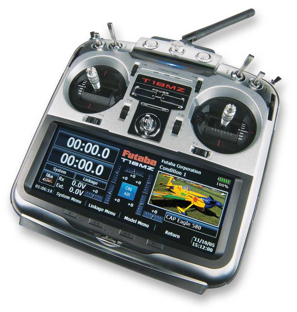 Futaba 18MZH 18-Channel 2.4GHz Radio System Mode 2 Heli - SN Hobbies