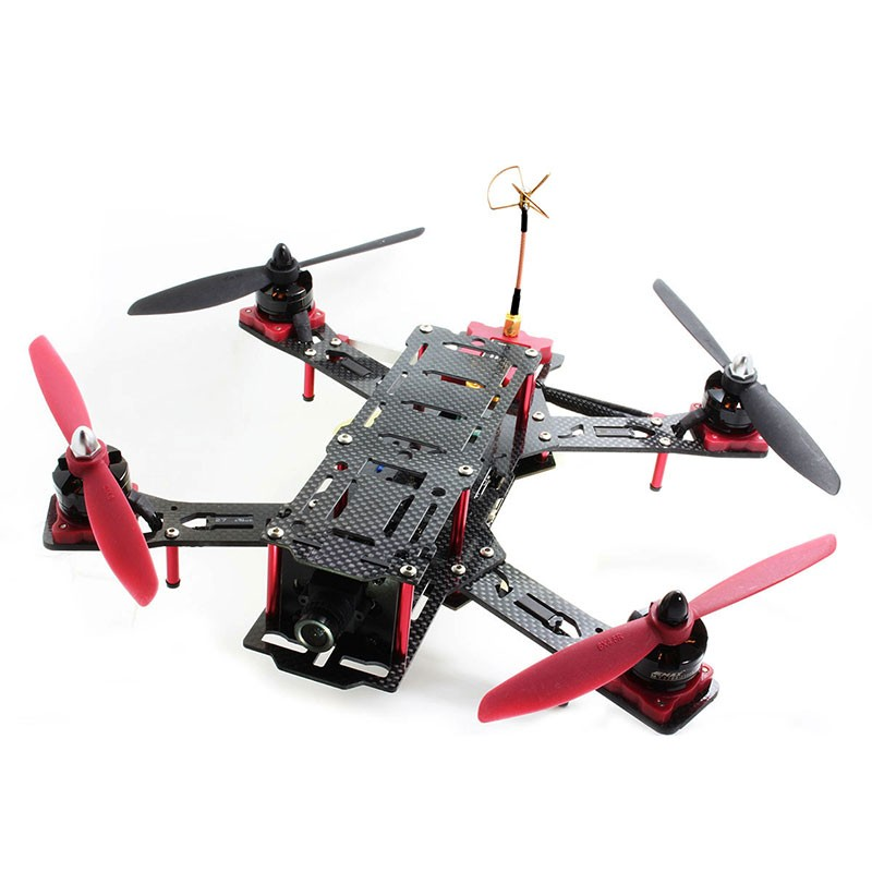 Nighthawk Pro 280 size Carbon fiber and Glass fiber mixed Quadcopter frame - READY TO FLY - SNHE