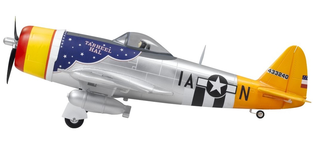 SN Hobbies - FMS Big RTF P47 Thunderbolt Brushless Warbird w/ Servoless Retracts - SN Hobbies