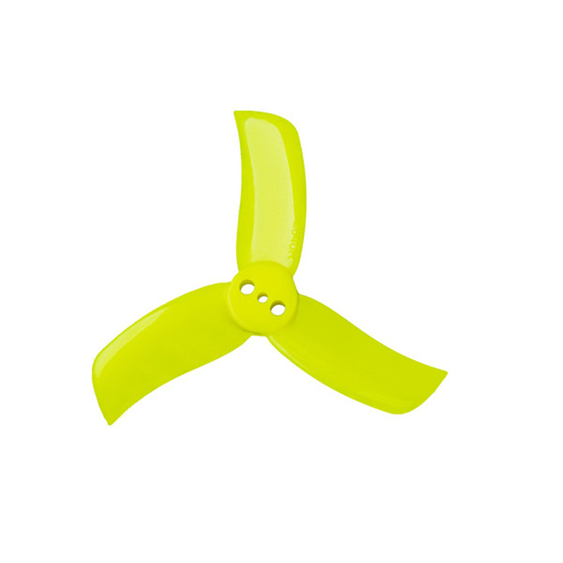 GemFan <b>2040</b> Hulkie T-Type PC 3-Blade Propeller 4 Pairs - <font color=&quot;yellow&quot;><b>Yellow</b></font> - SNHE