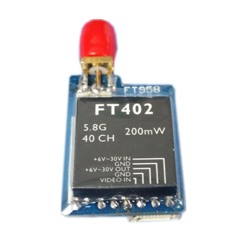 FT402 5.8G 200mw 40CH Super Mini wireless transmitter - SNHE