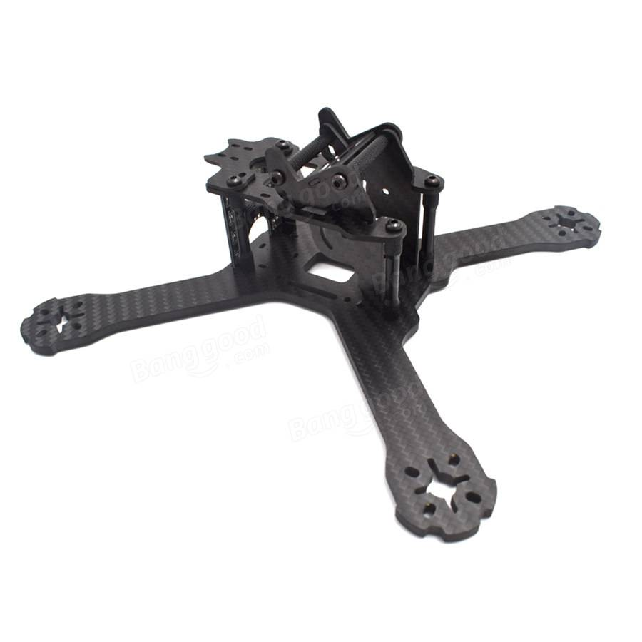 Realacc X210 V+ 214mm 6K Carbon Fiber FPV Racing Frame 4mm Frame Arm w/ LED Board 5V & 12V PDB - SNHE