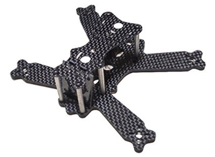 Deformation Insects 130mm Carbon Fiber Frame Kit Quadcopter Multicopter - SNHE