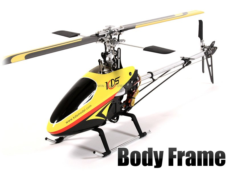 SN Hobbies - KDS 450 Quiet 6CH RC Helicopter RTF 2.4GHz w/ Aluminium Case - SN Hobbies