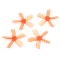 DYS ELF Prop 1735 5-blades (2CW, 2CCW) - <font color=&quot;orange&quot;><b>Orange</b></font> - SNHE