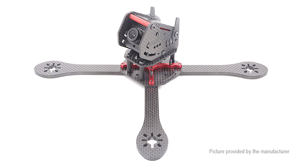 GEPRC GEP-ZX5 190mm 3K Carbon Fiber FPV Quadcopter Frame Kit - SNHE