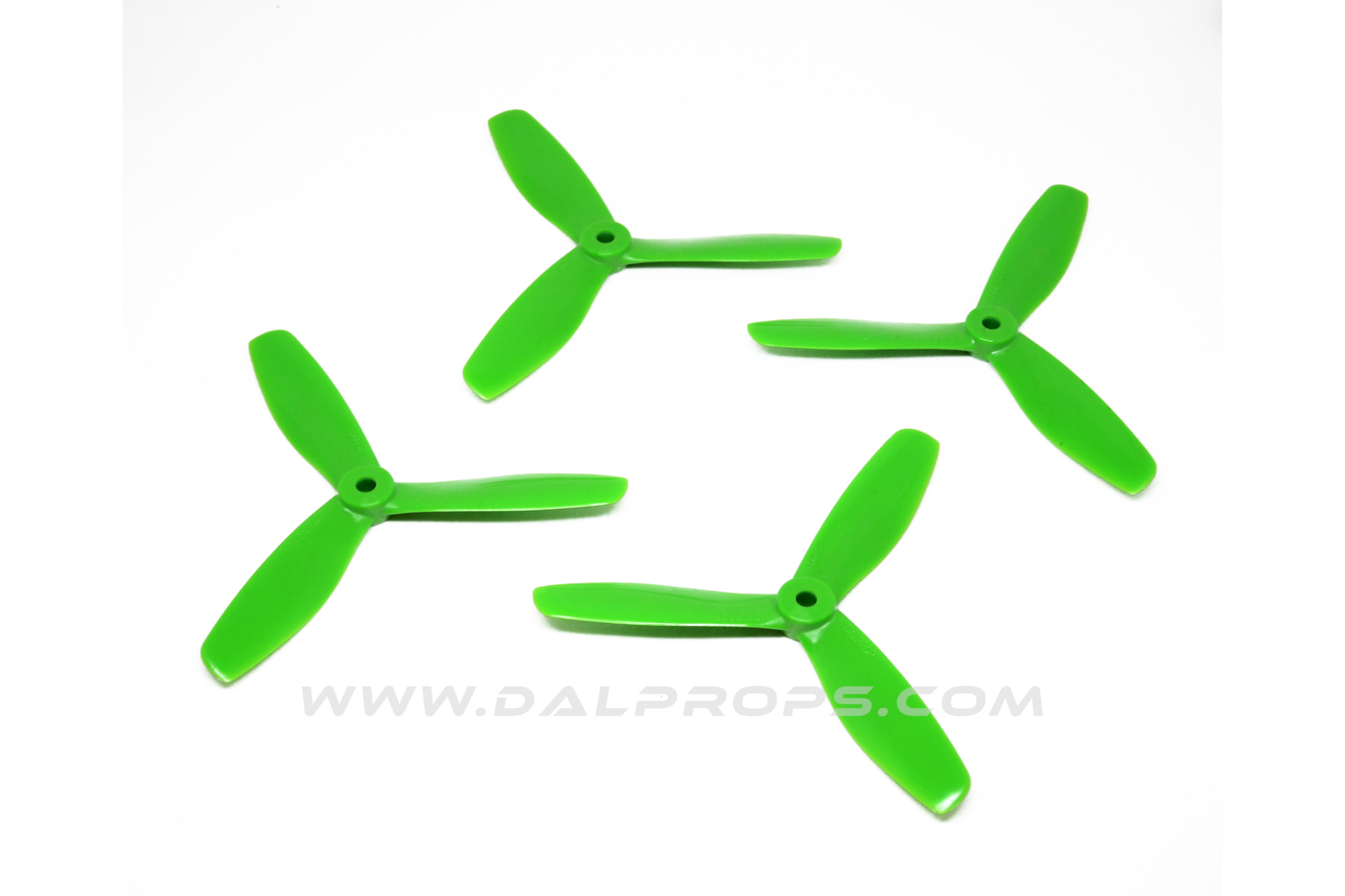 DAL &quot;Indestructible&quot; 5045 Tri-Blade V2 - <font color=&quot;green&quot;><b>GREEN</b></font> - SNHE