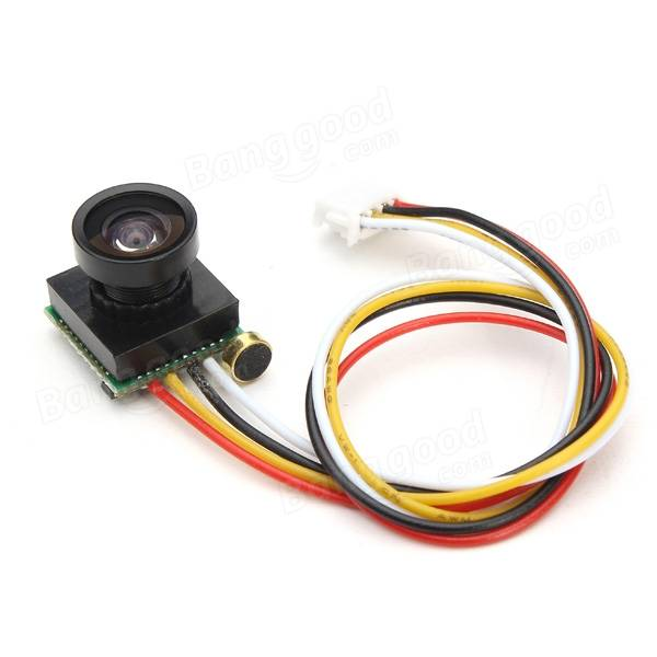 600TVL 100 Degree 1/4 Cmos 2.8mm Lens FPV Camera PAL/NTSC 3.3-5V - SNHE