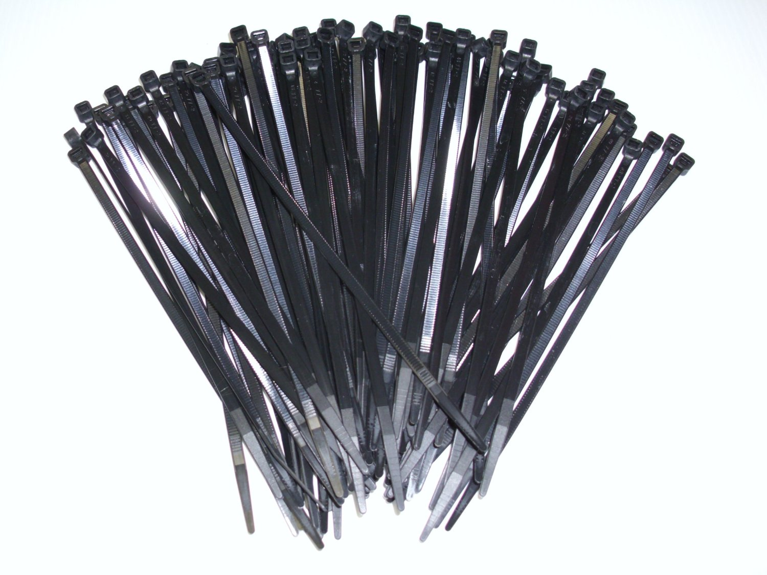 TeamSN 100pcs 3x150mm Nylon Self-Locking Cable Tie - BLACK - SNHE