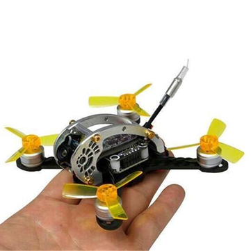 Kingkong FLY EGG 100 100mm Racing Drone w/ F3 10A 4in1 Blheli_S 25/100MW 16CH 800TVL <b>BNF DSM</b> - Upgraded Version - SNHE