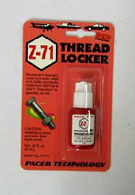 ZAP Z-71 RED THREADLOCKER - .2 OZ. - SN Hobbies