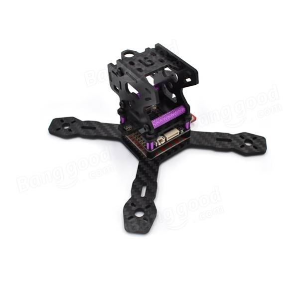 TCMM Realacc RX130 130mm 3mm Arm Carbon Frame Kit with 5V/12V PDB XT60 Plug - SNHE