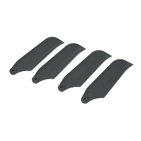 Carbon Tail Rotor Blade Set, New (2pr): 450SE - SN Hobbies