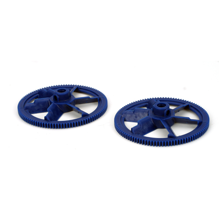 New Autorotation Tail Drive Gear, Blue (2):All 450 - SN Hobbies