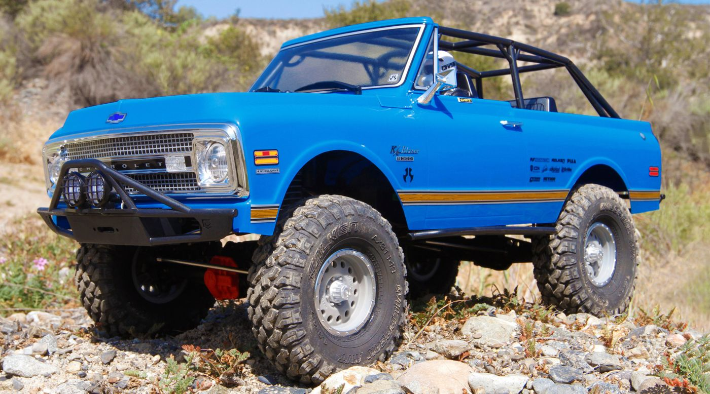 Axial Racing 1/10 SCX10 II '69 Chevrolet Blazer 4WD RTR - SNHE