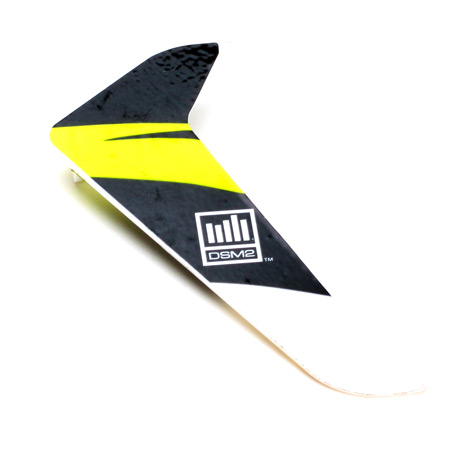 Vertical Fin with Decal: 120SR - SN Hobbies