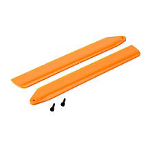 BLADE Hi-Performance Main Rotor Blade Set, Orange: 130 X - SN Hobbies