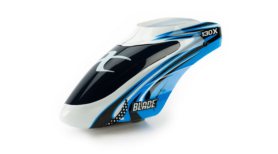 Blade Blue/White Option Canopy: 130 X - SNHE