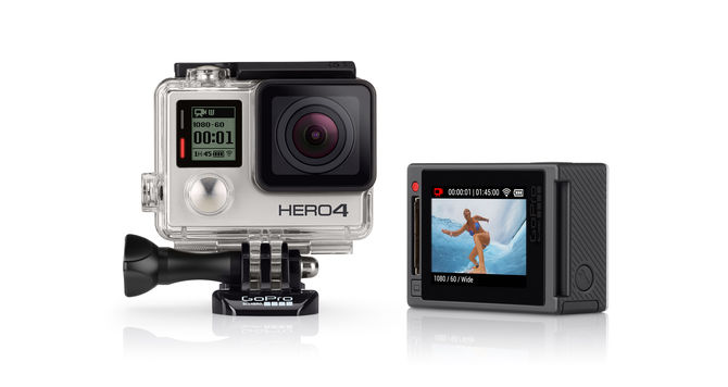GOPRO HERO4 SILVER EDITION ADVENTURE - SNHE