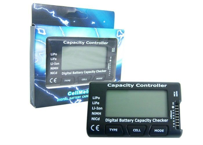 Cellmeter-7 Digital Battery Capacity Checker - SN Hobbies