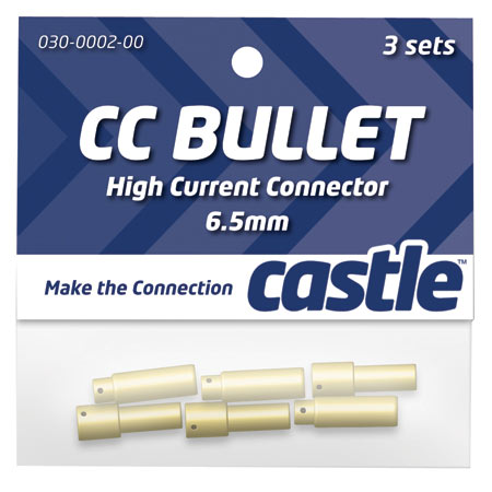 6.5mm High Current CC Bullet Connector Set - SNHE