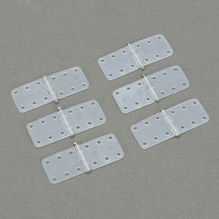Hinge,Nylon,Small (6) - SN Hobbies