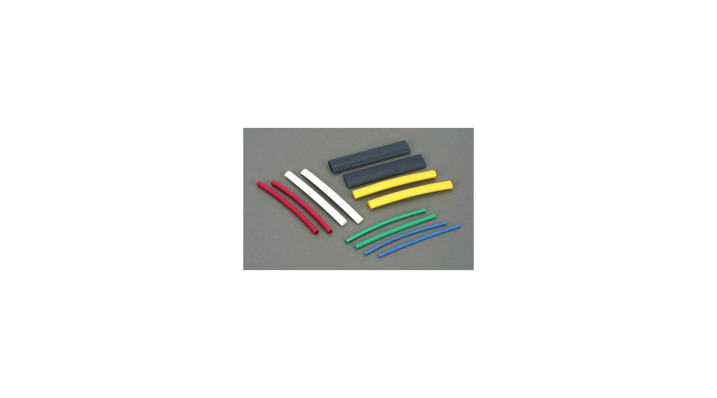 Dubro Heat Shrinkwrap Assorted Pack - SNHE
