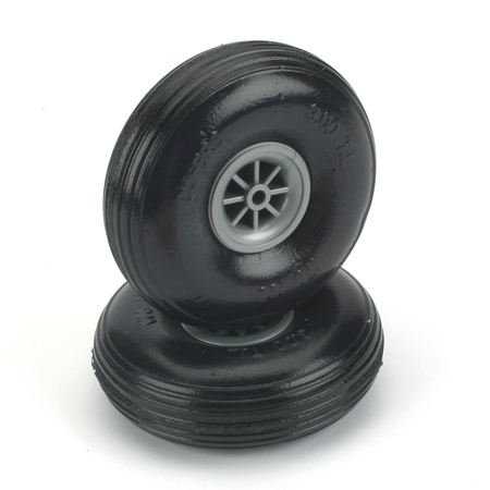 "Treaded Lite Wheels,3"" - SNHE"