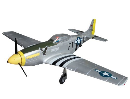 Dynam P-51 Brushless Powered RC Warbird Plug-N-Play w/ Electric Retracts - SN Hobbies