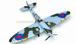 Dynam Spitfire Bruahless Powered RC Warbird Plug-N-Play w/ Electric Retracts - SN Hobbies