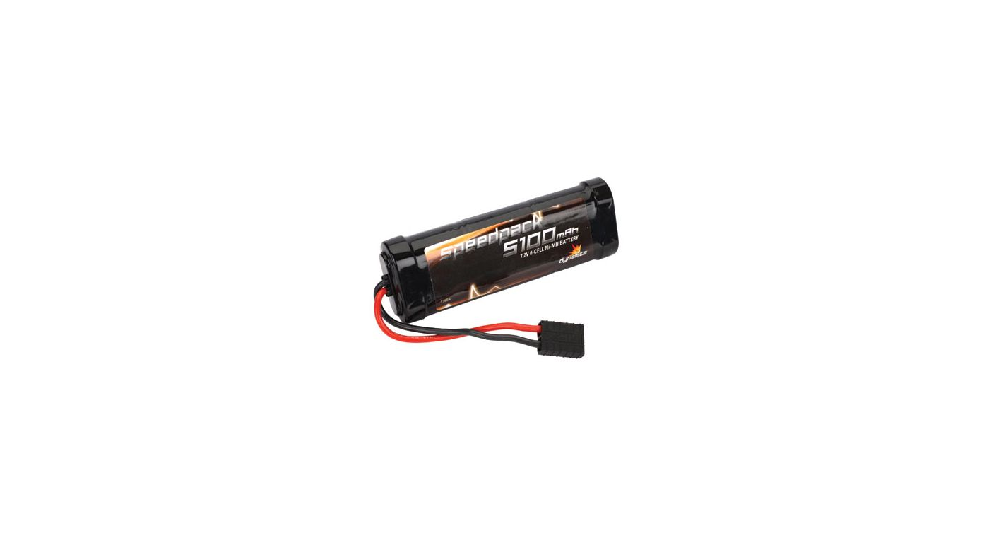 Speedpack 7.2V 5100mAh NiMH 6-Cell Flat with TRA Conn - SNHE