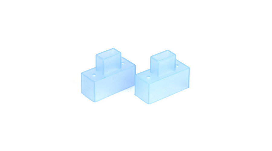 Dynamite Silicone Switch Cover, Transparent Blue - SNHE