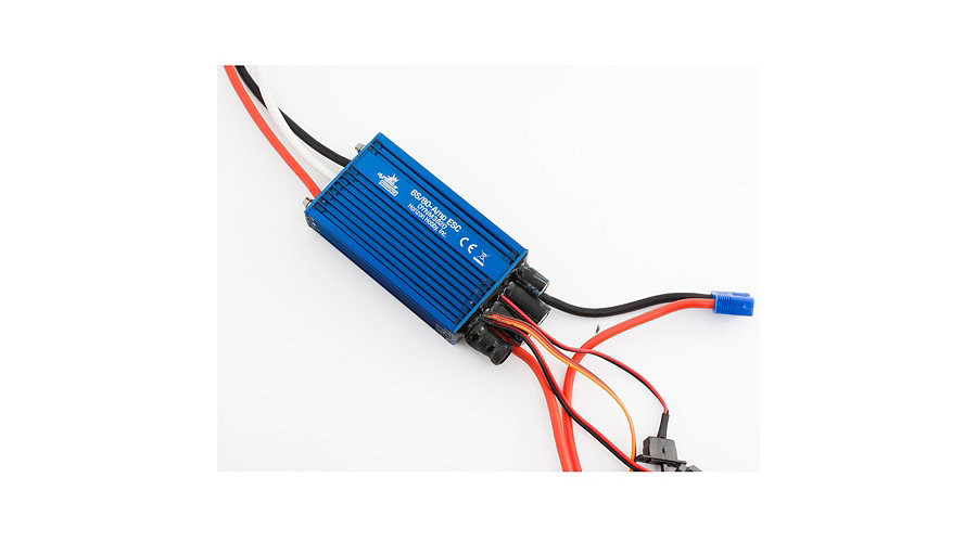80A Brushless Marine ESC: Dual Battery - SNHE