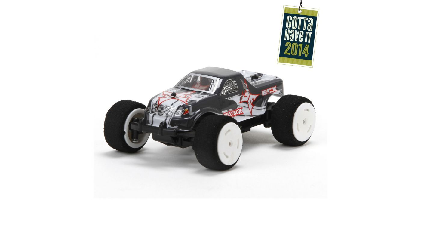 ECX 1/36 BeatBox 2WD Monster Truck: RTR - SNHE