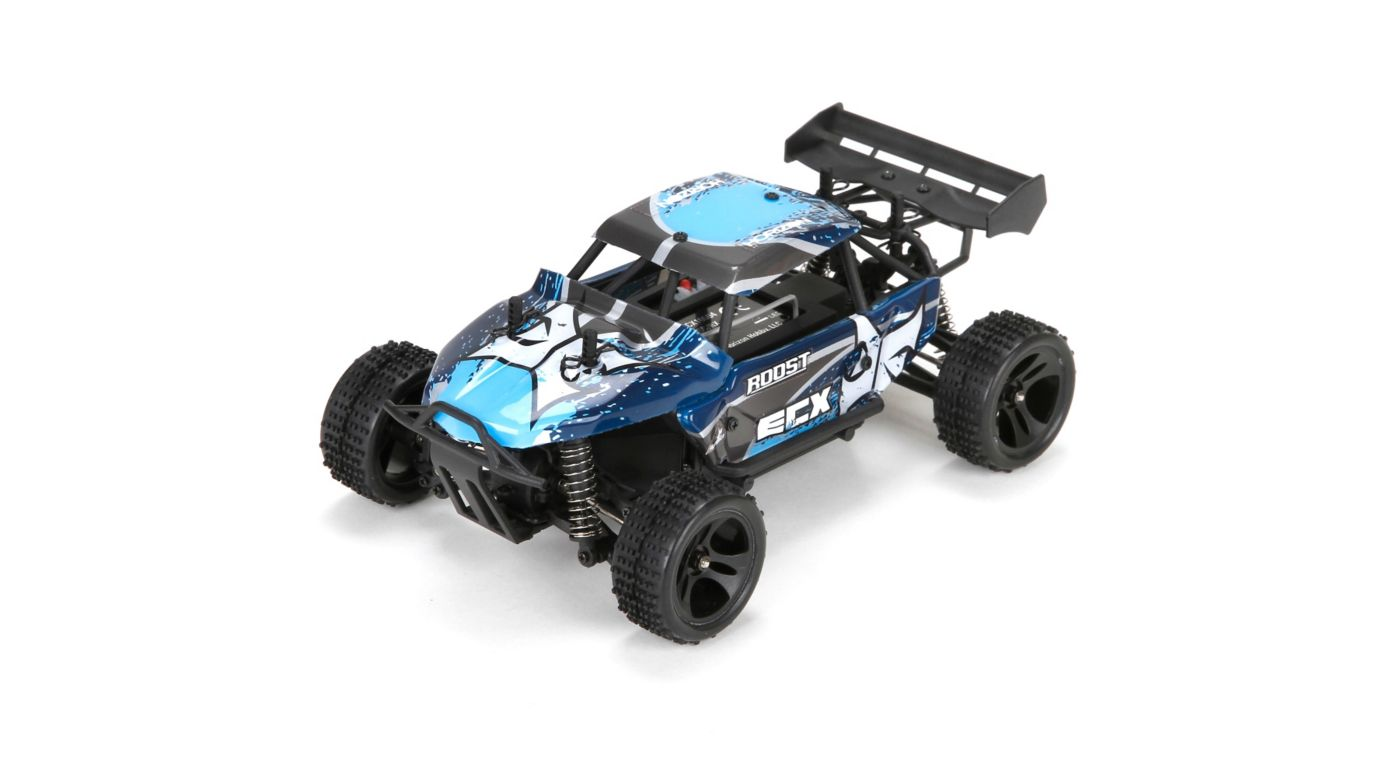 ECX 1/24 Roost 4WD Desert Buggy RTR, Blue/Grey - SNHE