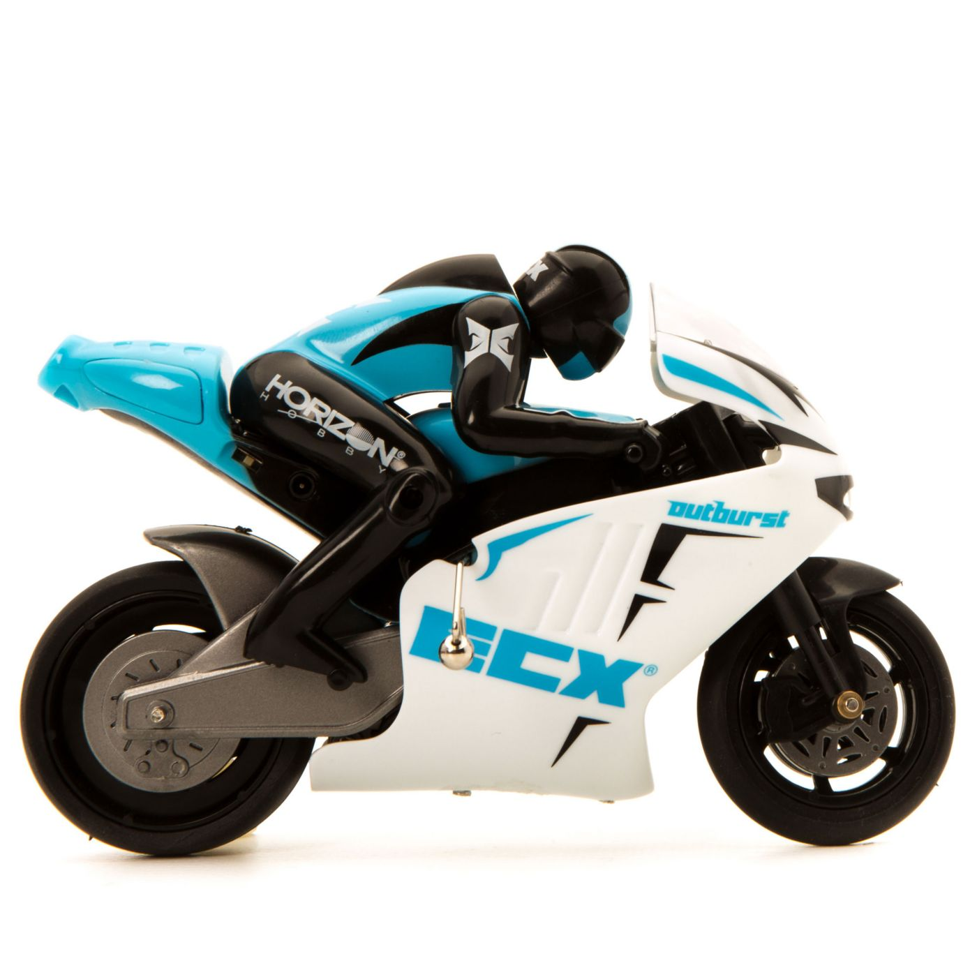 ECX Outburst 1:14 Motorcycle: RTR Blue - SNHE
