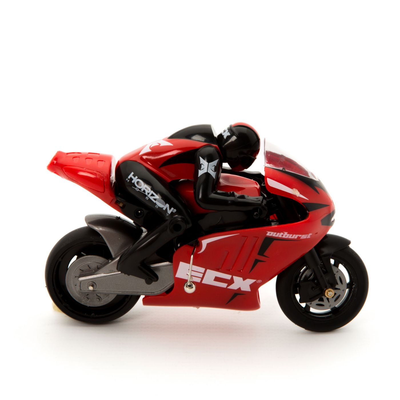 ECX Outburst 1:14 Motorcycle: RTR Red - SNHE