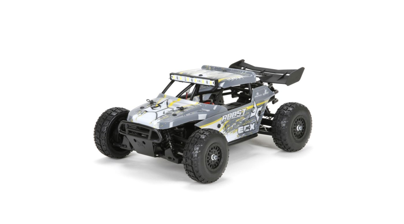 ECX 1/18 Roost 4WD Desert Buggy RTR, Grey/Yellow - SNHE
