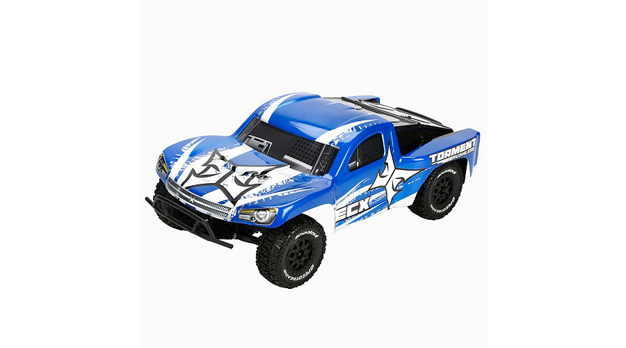 ECX Torment 1/10 2WD Brushless RTR SCT: Blue/White - SNHE