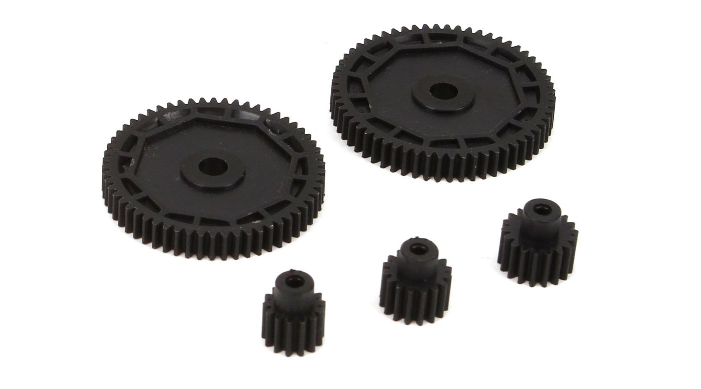 ECX Pinion & Spur Gear Set: 1/18 4WD All - SNHE