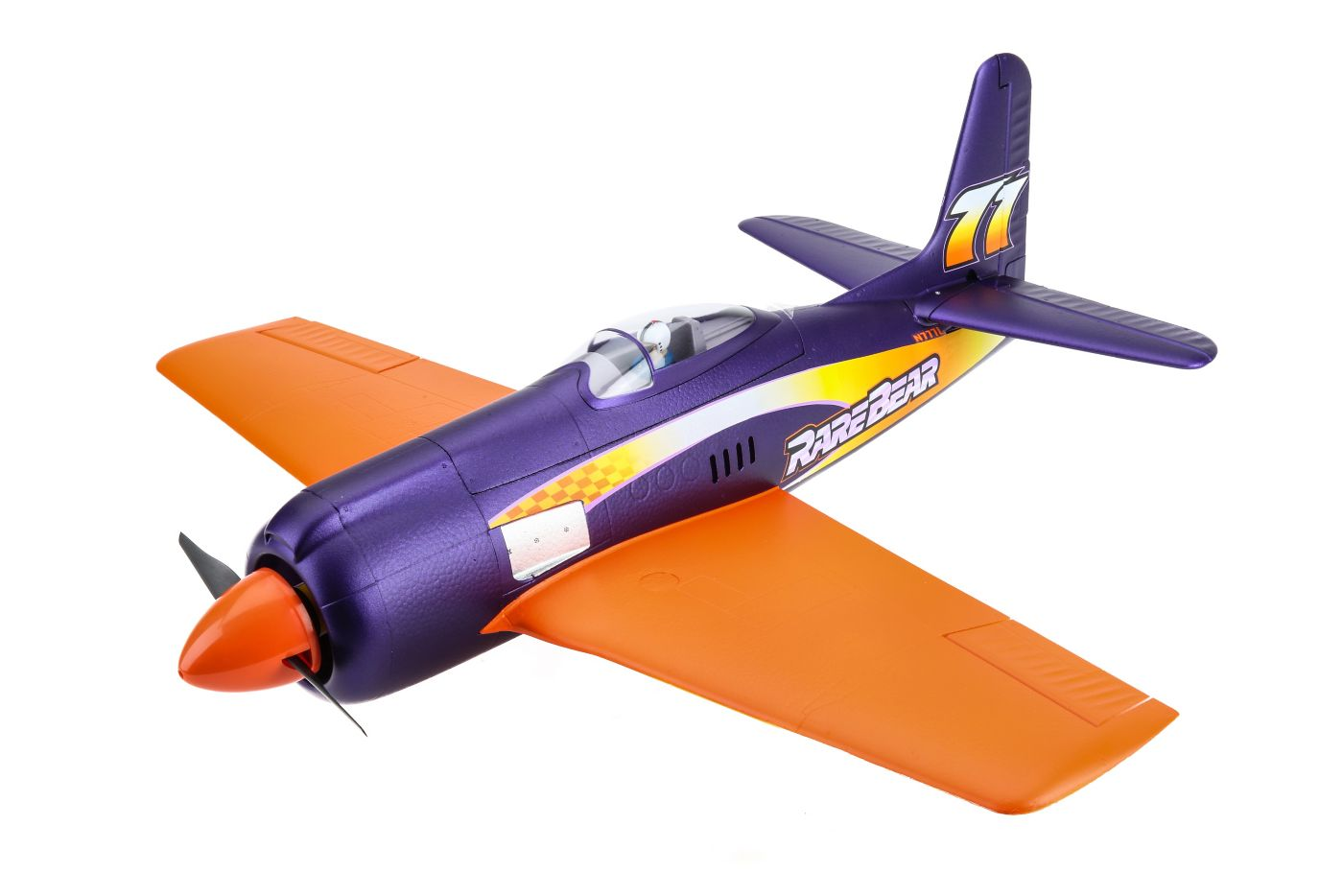 E-flite Rare Bear with AS3X� Technology BNF Basic - SNHE