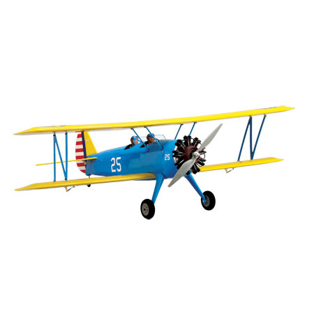 Stearman PT-17 15e ARF - SN Hobbies