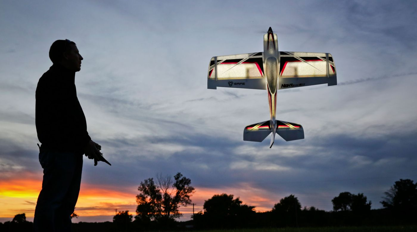 E-flite NIGHT VisionAire® BNF Basic with SAFE® Technology - SNHE