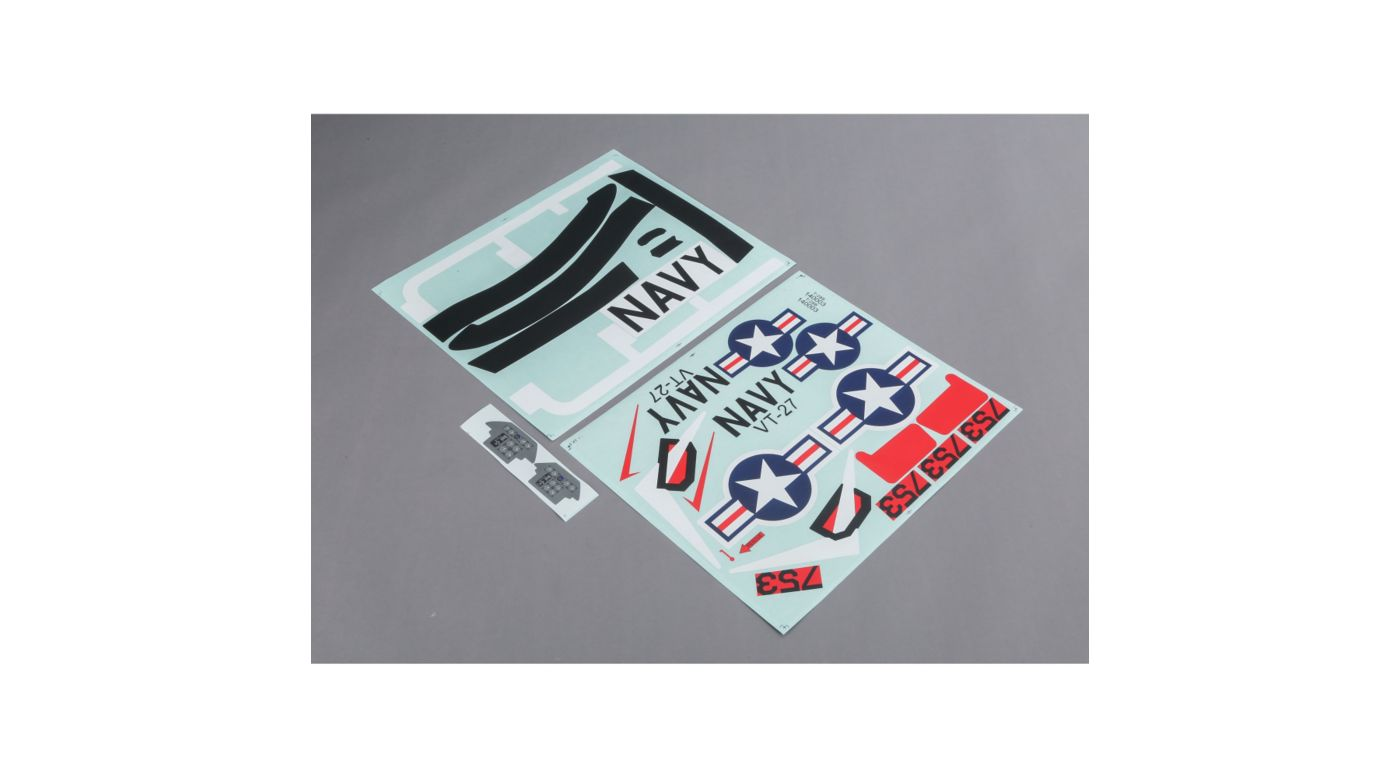 E-flite Decal Sheet: T-28 1.2 - SNHE